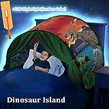 Tienda para cama Sueño Children Play Cama Tienda Fantasy House (Parque de Los Dinosaurios)