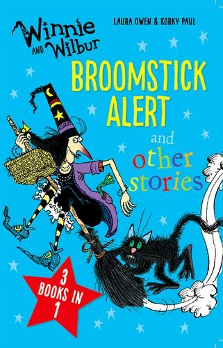 Broomstick alert and other stories : 3 books in 1