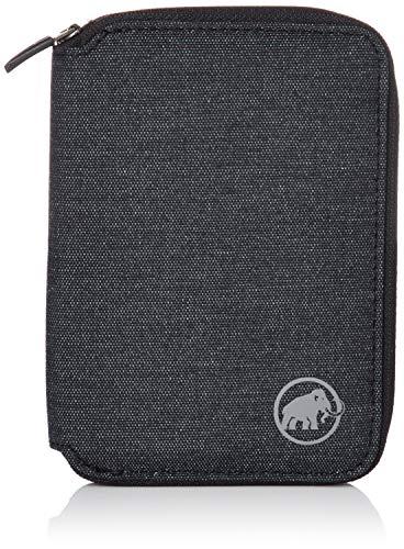 Mammut Geldbörse Zip Wallet Mélange Geldbeutel, black, one size -