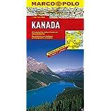 Carte du Canada - Echelle : 1/4 000 000