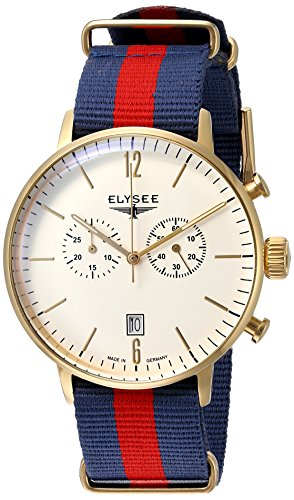 Elysee mens watch chronograph classic Edition Stentor 13273N