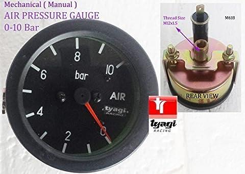 Vintage Car 60mm Universal 24V Dial Air Pressure Vacuum 0-10