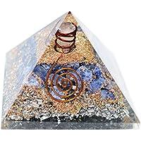 Humunize Sodalith Stein mit Bleistift Orgon Pyramide Chakra-Energie-Generator Reiki Stein Fen Shui Geschenk preisvergleich bei billige-tabletten.eu