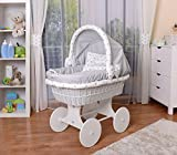 WALDIN Baby Stubenwagen-Set
