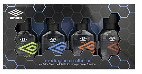 Umbro Coffret Mini Parfums Collection 4 x 30 ml