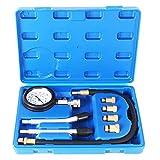 TecPo Kompressionstester für Benzin Motor 0-20 Bar Kompression Prüfer meßen Werkzeug