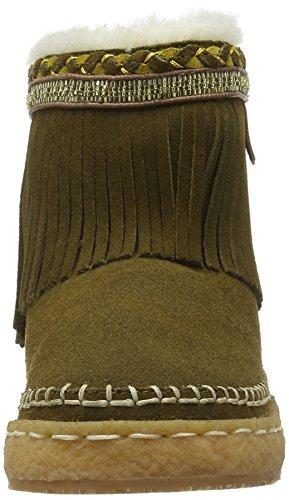 Laidback London Nyali Fringe, Bottes Classiques femme Marron - Braun (Olive)