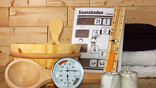 Karibu Saunazubehör-Set Classic 6-teilig