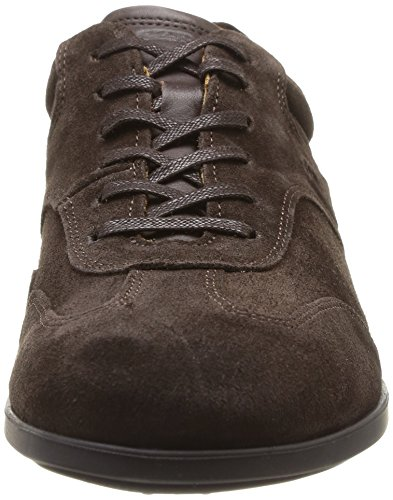 Sebago Teague T Toe, Chaussures de ville homme Marron (Dk Brown Suede)