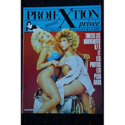 PROJEXTION PRIVEE 16 AMBER LYNN TRACY ADAMS TANYA FOXX EROTIC PHOTOS CHARM STARS 1988