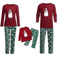 Descuento Conjunto de Pijama de Navidad Familiar,Pijama Navidad Niños/Mamá/Papá Traje de Dormir
