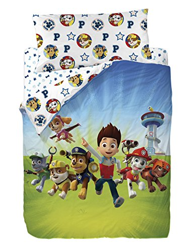 bed-linen-3-pieces-paw-patrol-the-pat-patrol-house-duvet-cover-fitted-sheet-and-pillowcase