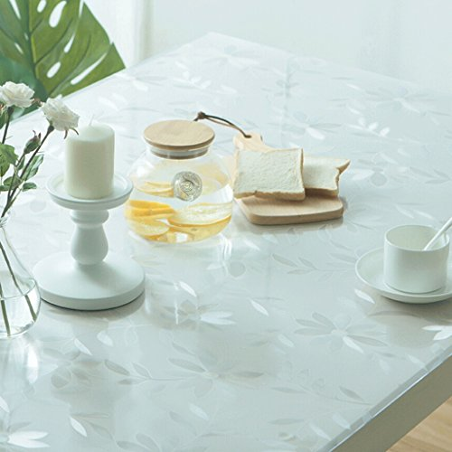 YHJ mantel PVC suave vidrio mesa de comedor tela impermeable y libre...