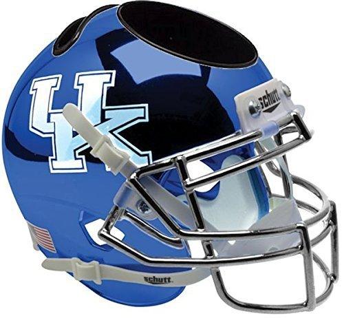 Kentucky Wildcats NCAA Schutt Mini Football Helm Schreibtisch Caddy (chrom/blau) UK von Schutt
