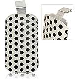 Accessory Master- Blanc Housse Pocket Etui Slip en Simili cuir pour nokia lumia n900
