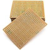 PCB Board Prototype Plaque DIY de Circuit Imprimé Bakélite en Cuivre Unilatérale 5pcs