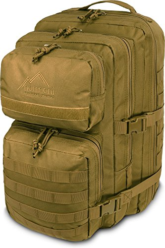 US Assault Pack Large, Rucksack, 50 Liter Farbe Coyote (Pack-rucksack)