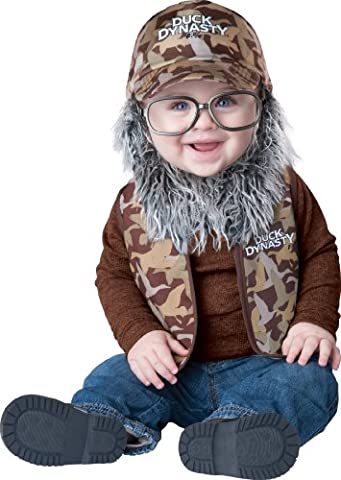 Dynastie De Duck Duck Costume - Duck Dynasty Baby Boy's Uncle Si, Camouflage,