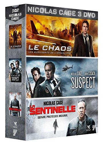 Bild von Nicolas Cage : Le Chaos + Suspect + La Sentinelle