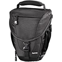 Hama 'Rexton V3 130 Colt Bag' for Digital SLR Cameras, Lenses, Accessories [TRIPOD & MONOPOD Carry Feature] | Compatible with Sony, Panasonic, Nikon, Kodak, Canon & Many More - Black