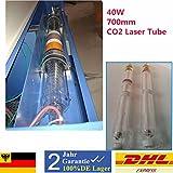 40W CO2 Laser Tube Laserröhre 700MM 10.6μm für CO2 Lasergravur Maschine