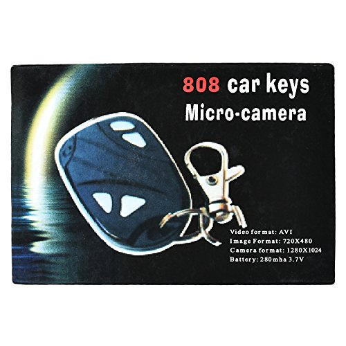 Green House Car key Ring Compact Spy Camera with 8 GB Expandable Memory  available at amazon for Rs.545