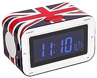 Ecran incorporé:LCD, Affichage du réglage:Écran à cristaux liquides, Tuner radio:Analogique - AM/FM, Modes alarme:Radio, sonnerie, Minuteur:Rappel d'alarme, mise en sommeil, Horloge intégrée:Horloge numérique, double réveil, Nombre d'alarmes:2, Carac...