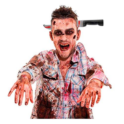 Scherzmesser Haarreif Halloween Gothic Punk