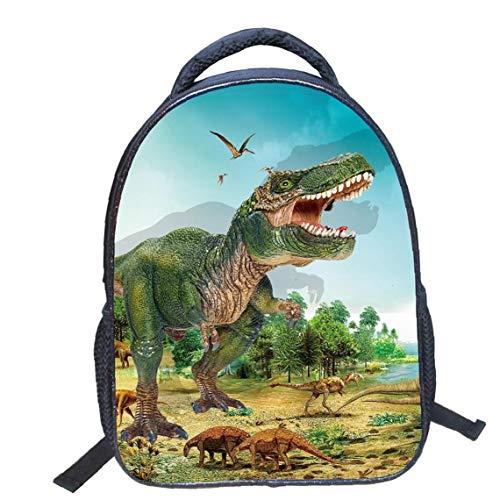 Bolsas Dinosaurio 3D Print Mochila De Lona Animales