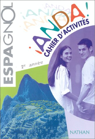 Anda ! 3e espagnol LV2 : cahier d'activités