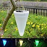 Solarleuchten Garten LED Kunststoff Energieeffiziente Umweltfreundliche Wasserdicht für Außen / Landscape / Outdoor Zaun Stimmungslampe Farbiges Licht Schnur Hängende RGB Verfärben(IP44)