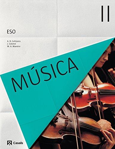 Música II ESO (2015) - 9788421854716 por VV.AA.