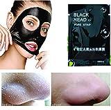 LUFA 20 Stuck Black Head Peel Off Maske Mineralschlamm Nase Mitesser Entferner zum Pore und Akne Behandeln und Reinigen Schwarze Gesichtsmaske