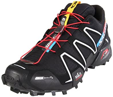 SALOMON Men's Trail Running Shoes Black Black: Amazon.co
