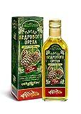 Zeder-Nuss-Öl, Kaltgepresst, Herkunft Altai Sibirien, 250 ml.