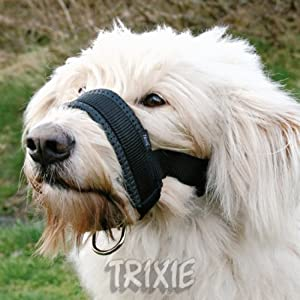 Trixie Extra Soft Padded Large Nylon Dog Muzzle Loop from Trixie