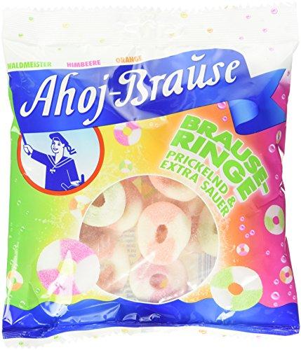 Ahoj Brause Ringe, 12er Pack (12 x 225 g) - Ringe Süße Zunge