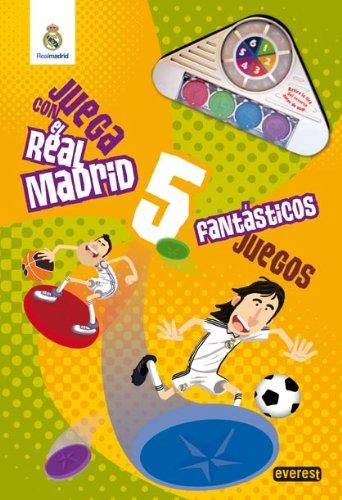 Juega con el Real Madrid. 5 fantásticos juegos. Libro de cartón gigante (Real Madrid / Libros singulares)