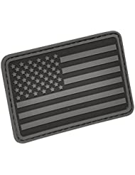 Hazard 4 3D USA Flag Moral Patch (Bras Gauche) Noir Gris
