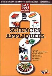 Sciences appliquées bac pro ref 01720