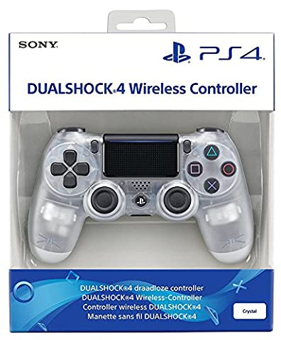 Manette Dual Shock 4 V2 pour PS4 - Crystal