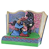 Disney Traditions the Greatest Honor Mulan Storybook Figurine, Resin, Multi-Colour, 200 x 100 x 150 cm