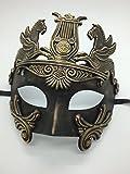 Máscara de máscara para hombre, diseño de Hércules Romanos (oro) por Four-seasonstore