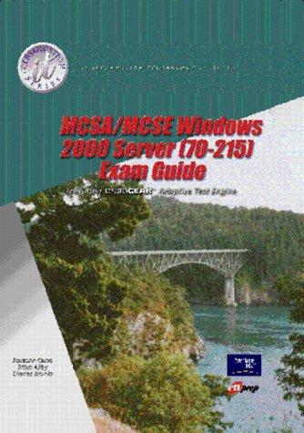 MCSA/MCSE Windows 2000 Server (70-215) (Package) por Charles J. Brooks