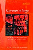 Summer of Rage: An Oral History of the 1967 Newark and Detroit Riots (English Edition)