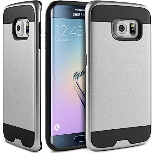 new product 877fd 2c69f BEZ® Hybrid Shockproof Rubber Case Cover for Samsung Galaxy S6 Edge ...