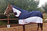 51W17OnEc4L. SL160  BEST BUY UK #1Gallop Turnout Fly Rug Combo, Great 2 in 1 Rug, Fixed Neck Cover 56 price Reviews uk