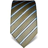 VB–Cravatta Uomo Seta a Righe–Molti colori