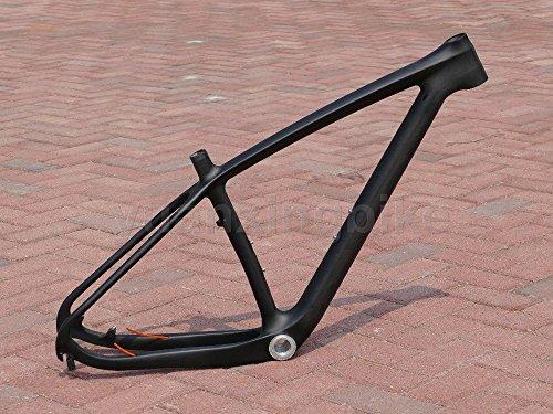 202# Toray Carbon MTB Rahmen Full Carbon 3K Matt Mountain Bike 29er BSA Rahmen 39,4cm Headset 29er Bike