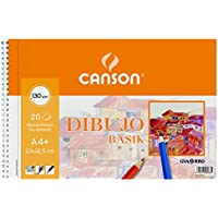 Guarro Canson 726487 - Bloc A4, micro perforado, 20 hojas, 130 gr